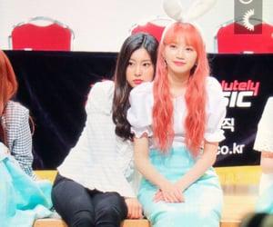 lq, hyewon, and izone image