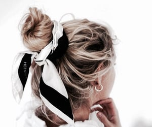accessories, blonde, and girl image
