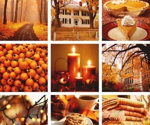 aesthetic, october, and autumn image