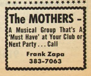 the mothers of invention, 1965 classic zappa, and must have @ your party image