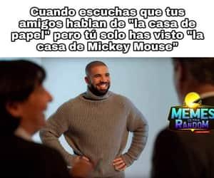 meme, mickey mouse, and memes en español image