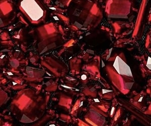 red, ruby, and aesthetic image