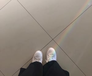 aesthetic, shoes, and grid image