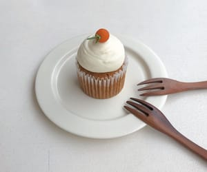 aesthetic, cake, and carrot image