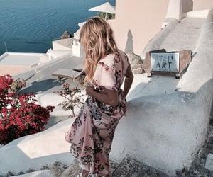 blonde, dress, and fashion image