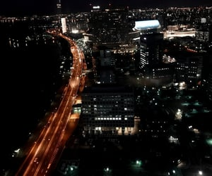 black, city, and Darkness image