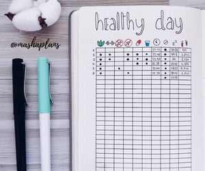 organized, 💛, and planner image