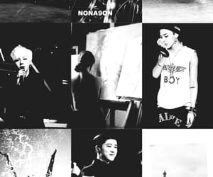 black and white, Collage, and Ikon image