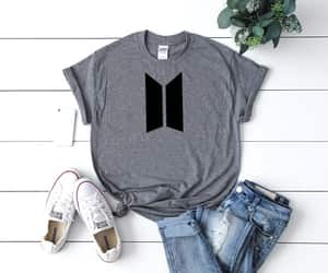 etsy, bts t shirt, and bangtan boys image