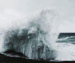 blue, sea, and tumblr image