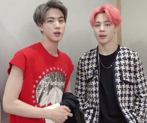 bts and jinmin image