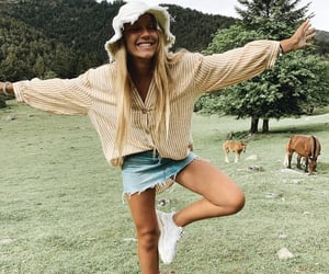 farm, fashion, and girls image