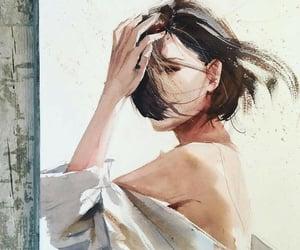 art and woman image