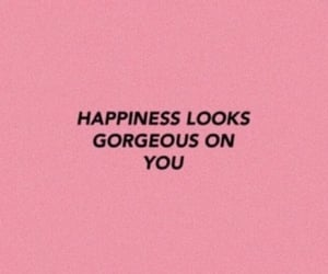quotes, pink, and happy image