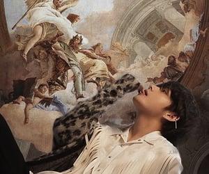 wallpaper, angel, and art image