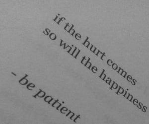 happiness, happy, and hurt image