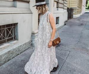 blogger, Calvin Klein, and dress image