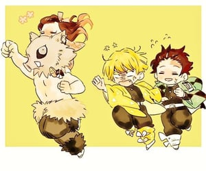 best friends, chibi, and flower image