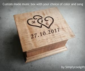 etsy, musicboxes, and valentines day image