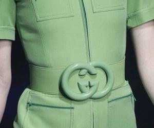 gucci, fashion, and green image