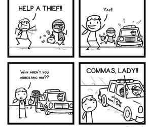 comics, grammar, and meme image