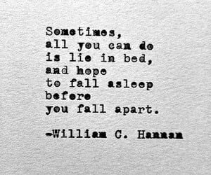 quotes, sad, and sleep image