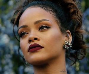 rihanna, beauty, and makeup image