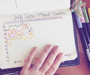 mood, tracker, and bullet journal image
