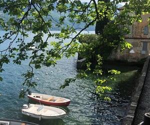 boat, sea, and nature image