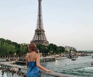 blue, boats, and dress image