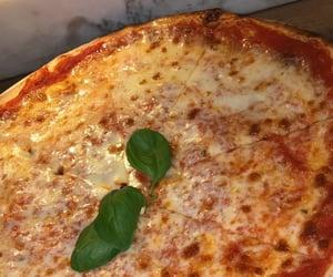 food, pizza, and yummi image