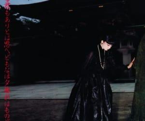 asain girls, japanese, and black image