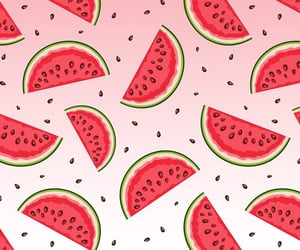 background, fruit, and red image