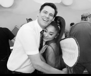 ariana grande and jim carrey image