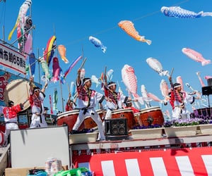 festival, japan, and kodomonohi image