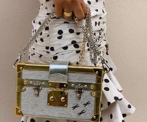 bag, gold, and blogger image