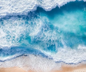 beach, ocean, and seascape image