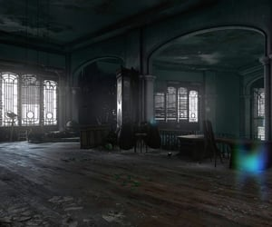 abandoned, addermire, and Darkness image
