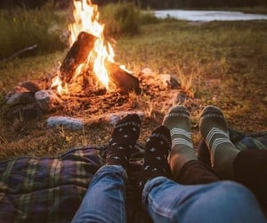 date, relationship goals, and fire image