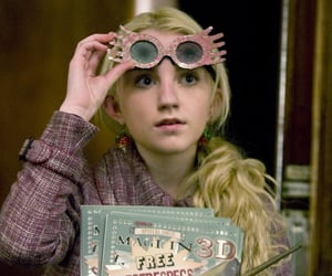 harry potter, luna lovegood, and luna image