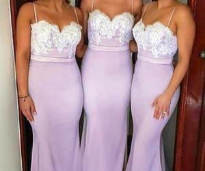 wedding party dress, bridesmaid dresses long, and mermaid bridesmaid dress image