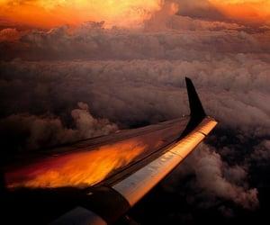 aesthetic, cloud, and orange aesthetic image