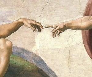 fresco, renaissance, and michaelangelo image