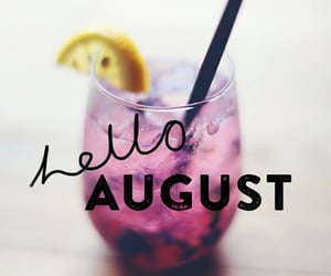 summer, hello august, and August image