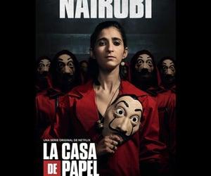 nairobi, netflix, and money heist image