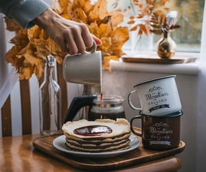 autumn, coffee, and breakfast image