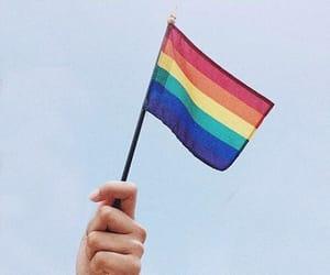 pride, lgbt, and gay image