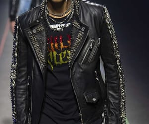 jacket, leather, and ss 20 image