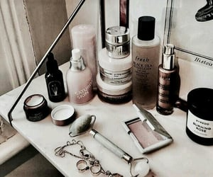 makeup, nails, and product image