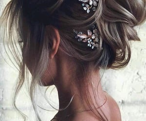 prom hairstyle and Prom image